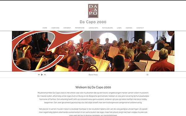 Website Da Capo 2000