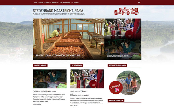 Website Stedenband-RaMa