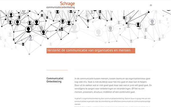 Website Schrage Communicatie