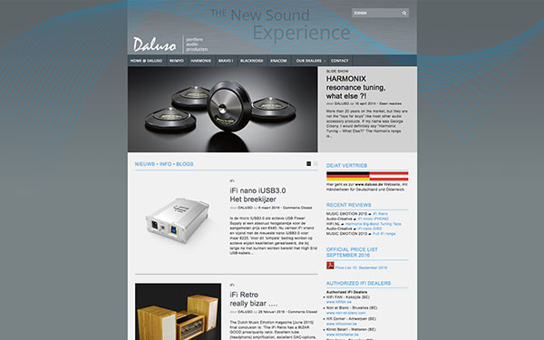 Website Daluso-Audio