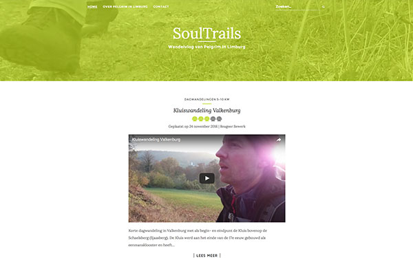Webvlog SoulTrails