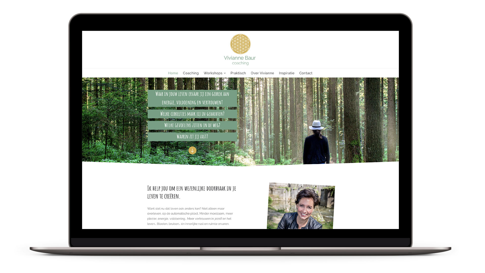 Website Vivianne Baur Coaching