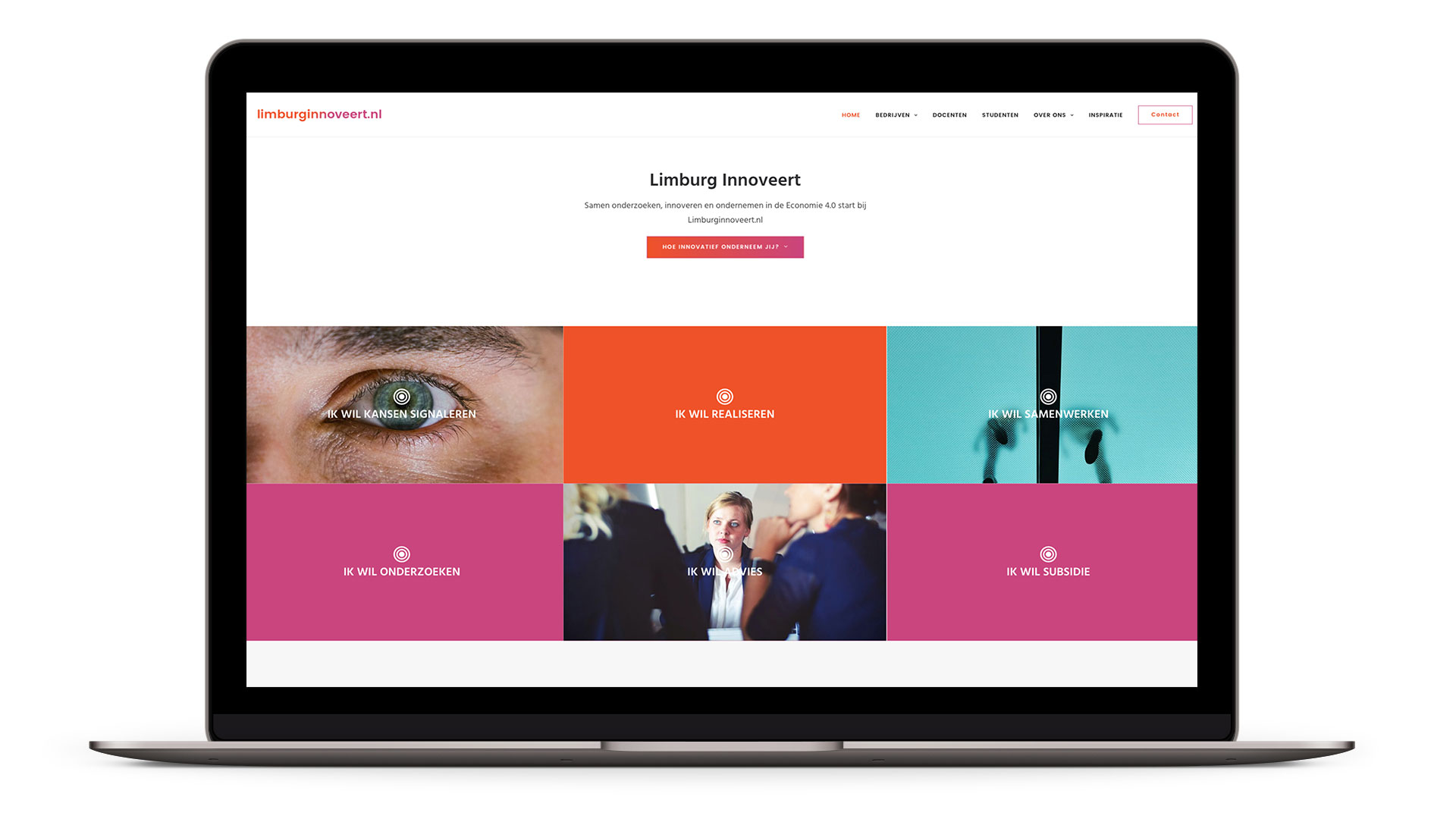 Website Limburg Innoveert