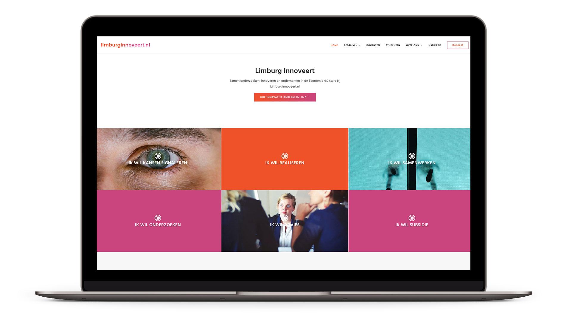 Website Limburg Innoveert